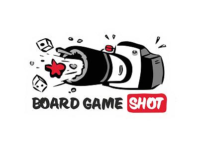 Board Game Shot logotype photographer logo picture photo shot game board