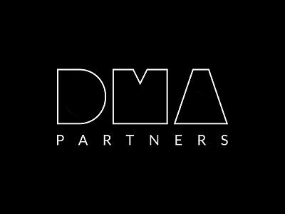 DMA Logo corporate elegant modern design brand group business logo