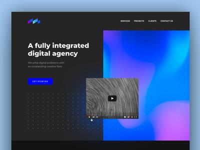 creative agency ui