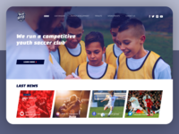 Soccer club website