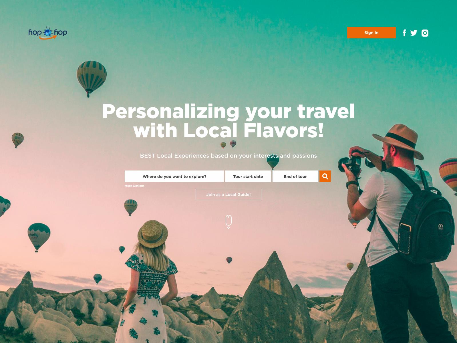 Travel UI design website landing uidesign uiux ui booking travel