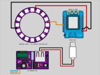 Wiring for DIY Hue Lamp