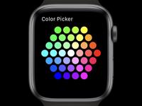 Color Picker for apple watch HUE lights app