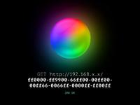 #RRGGBB notation multicolor Lamp 🎥
