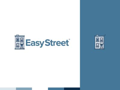EasyStreet Logo Concept startup minimalist logo identity branding