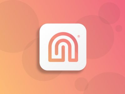 Nookly App Icon UI ux ui startup icon startup logo ios icon app icon app nookly 005 dailyui