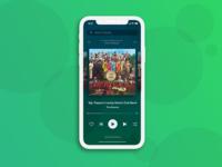 Spotify Music Player UI