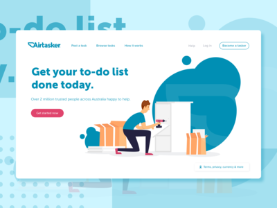 Airtasker designs, themes, templates and downloadable