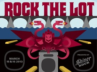 Austin-American Statesman – Rock The Lot poster
