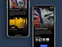 Art events app