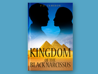 Kingdom Of The Black Narcissus Book Cover Design