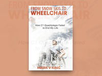 From Snow Skis To Wheelchair Book Cover Design