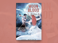 Moon Blood Book Cover Design