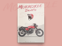 Motorcycle Smarts Book Cover Design