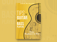Tips For Guitar And Bass Players Book Cover Design