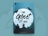 The Ghost It Was Book Cover Design