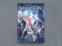 Space City Book Cover Design
