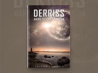 Derriss Hero Science Fiction Book Cover Design