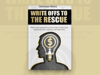 Write Offs To The Rescue Book Cover Design