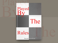 Played By The Rules Book Cover Design
