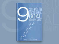 9 Steps To Successful Goal Achievement Book Cover Design
