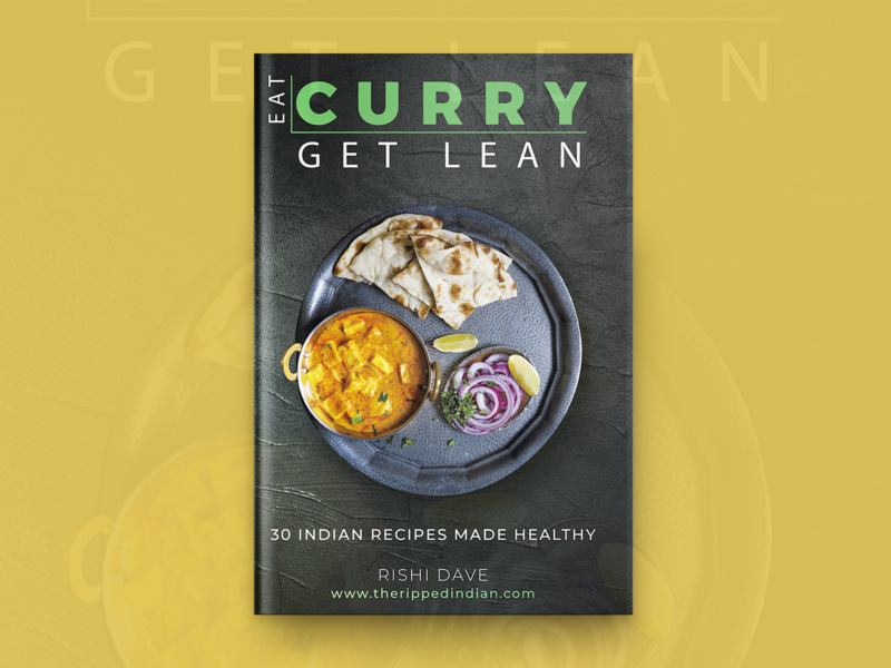 Curry Get Lean Book Cover Design book type design covers typography designing branding book covers book cover design