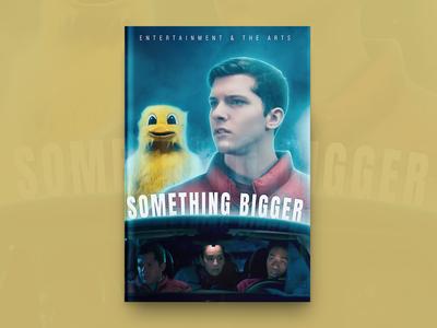 Something Bigger Book Cover Design