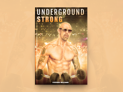 Underground Strong Book Cover Design