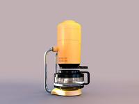 Coffee machine 3D