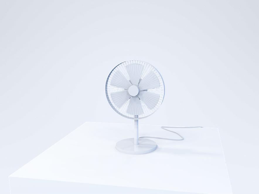 Small fan   3D