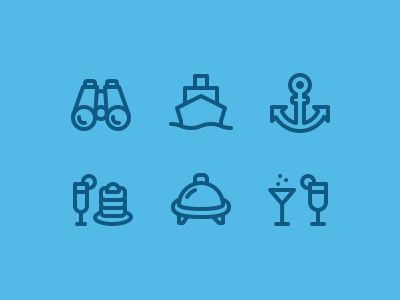 Cruise Ship Iconography