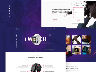 watch ecommerce store