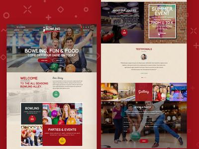 Bowling - Sport HTML Template