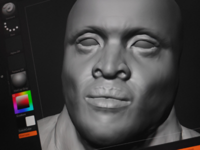 3D Character Sculpting