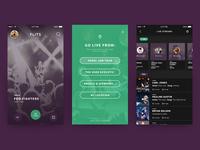 Music Live Streaming App - Home, Start Stream & Live Streams