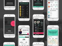 Social Running App