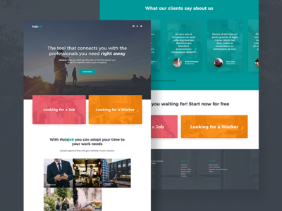 Homepage index web interface website ux ui homepage design