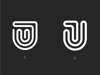 JT Logo idea grid lines white black jt process logo identity brand