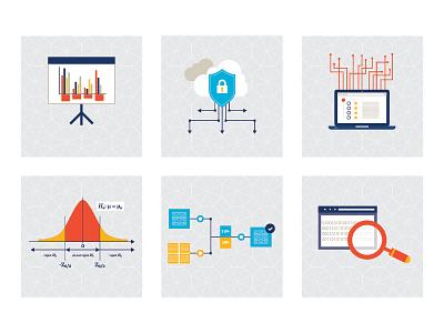 Data Illustrations data icons illustrations data visualization