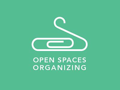Open Spaces Organizing Logo logo typography icon line work