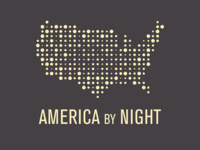 America By Night Logo
