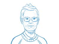 Carton avatar sketch