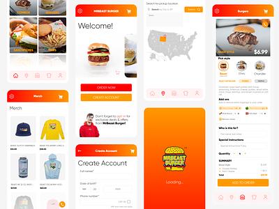 🍔 MrBeast Burger App UI Redesign uiux designer uiuxdesign uidesign ui uiux