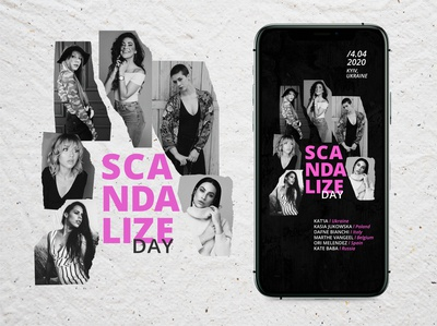 Insta story poster for dance workshops
