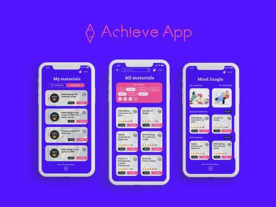 Education app shot 1 branding logo ios mobile app interface ux design