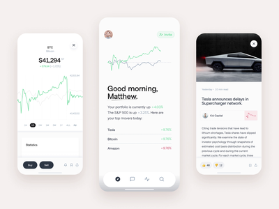 Commonstock - Feed trading platform trading stock etf community investor trading app feed brokerage account portfolio performance broker connect finance friends chat cryptocurrency trade crypto