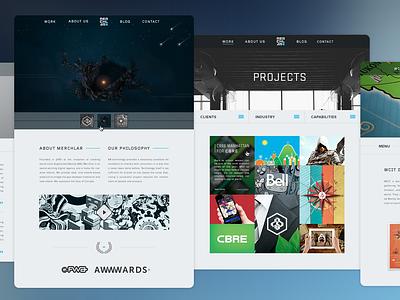 Merchlar Website dark responsive augmented reality ui website branding ux agency product design web ar
