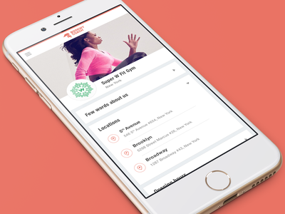Bookmy Coach - Client ux responsive product system app manage training fitness sport gym book coach