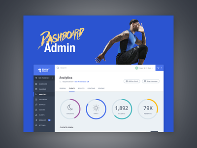 Bookmy Coach - Case Study ux responsive product admin system app manage training fitness sport gym book coach