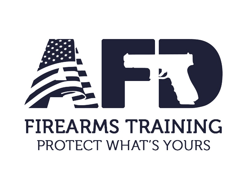 Logo design for a firearms training agency america training guns logo